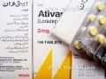 Ativan (Lorazepam) 2mg 10 Tablets / Strip