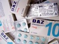 Daz (Diazepam) 10mg by safe pharma 10 Tablets / Strip